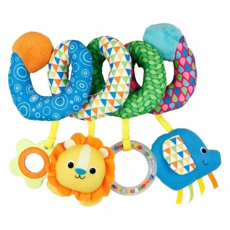 Pakabinamas žaislas - spiralė Smily Play