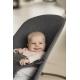 BabyBjorn Soft 3D Jersey Charcoal Grey gultukas-kėdutė