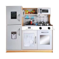 Vaikiška medinė virtuvėlė su šaldytuvu Blunt