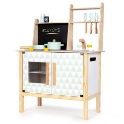 Medinė virtuvėlė Trikampiai su garsais