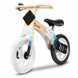 Medinis balansinis dviratis Willy Indigo su skambučiu