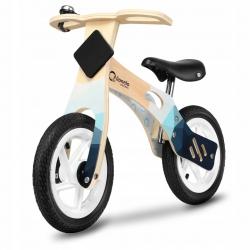 Medinis balansinis dviratis Willy Indigo AIR su skambučiu