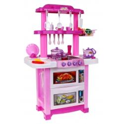 Daugiafunkcine virtuvė su garsais Pink