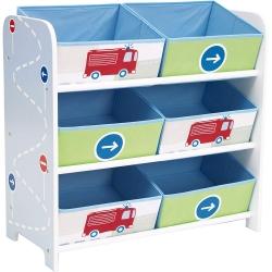 Žaislų dėžė - lentyna Vehicle