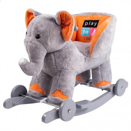 Supamas žaislas - stumdukas su garsais Elephant