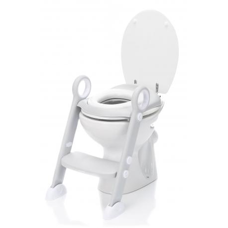 Tualeto treneris Grey su minkšta sėdyne