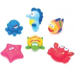 Žaisliukai voniai Ocean (6 vnt.)