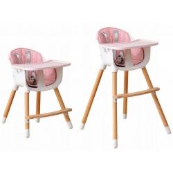 Multifunkcinė maitinimo kėdutė Pink