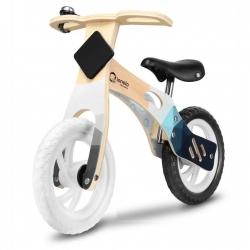 Medinis balansinis dviratis Willy Carbon su skambučiu