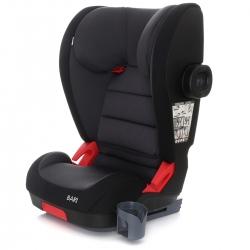 Auto kėdutė su padu Bari-Fix Black Melange