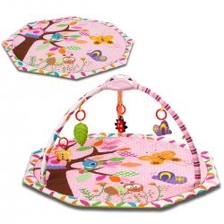 Lavinamasis muzikinis kilimėlis Pink Birds