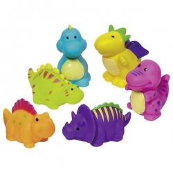 Goki žaisliukai voniai Dino (6 vnt.)