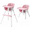 Multifunkcinė maitinimo kėdutė Pink-White