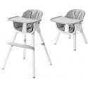 Multifunkcinė maitinimo kėdutė Grey-White