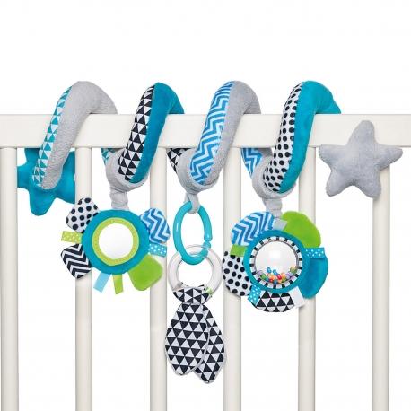 Canpol Babies pakabinamas žaislas - spiralė Zigzag