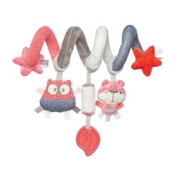 Canpol Babies pakabinamas žaislas - spiralė Coral