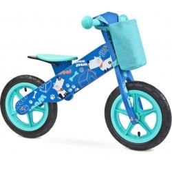 Balansinis dviratis ZAP Blue su krepšeliu