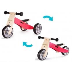 Medinis triratukas - balansinis dviratukas Eco 2in1