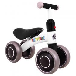 Mini dviratukas - paspirtukas PettyTrike White