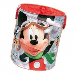 Pop Up apvalūs žaislų krepšys Disney Mickey