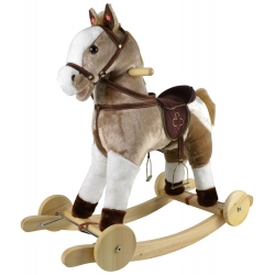 Muzikinės sūpuoklės - stumdukas Arkliukas Mustang