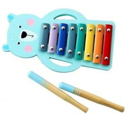 Medinis ksilofonas su pagaliukais