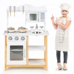 Medinė virtuvėlė Multi Classic su priedais