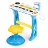 Vaikiškas pianinas su kedute, mikrofonu MultiBlue
