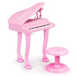 Muzikinis vaikiškas fortepijonas-pianinas Rose