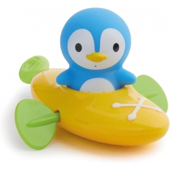 Munchkin vonios žaislas Pingvinas su baidare