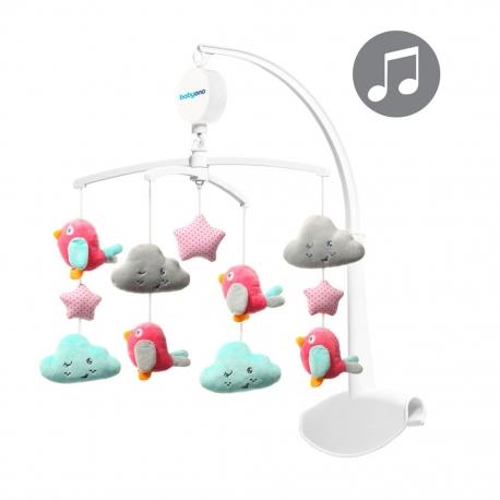 Muzikinė karusėlė Baby Ono Paukščiukai ir Debesėliai