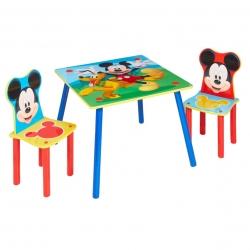 Staliukas su dviem kėdėm Disney Mickey