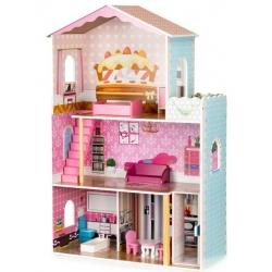 Medinis lėlių namas su liftu Cookie
