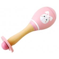 Barškutis Marakasa - medinis instrumentas Rabbit