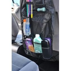 Sėdynės atlošo apsauga-daiktų krepšys 2 in 1