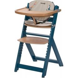 Medinė maitinimo kėdutė Safety1st Timba Petrol Blue + įdėklas