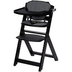 Medinė maitinimo kėdutė Safety1st Timba Black + įdėklas