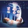 Muzikinė karuselė su projekcija Infantino Pink