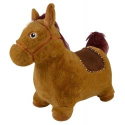 Pripučiamas šokliukas Arkliukas su minkštu užvalkalu