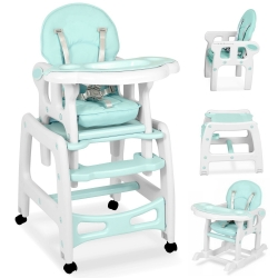 Maitinimo kėdutė–transformeris Mint Comfort su lingėmis