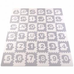 Minkštas kilimėlis-dėlionė 180x180 cm.