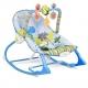Vibro kėdute – gultukas Dino Sky iki 18 kg.
