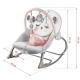 Vibro kėdute – gultukas Bunny Pink iki 18 kg.
