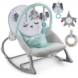 Vibro kėdute – gultukas Bunny Mint iki 18 kg.