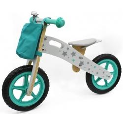 Medinis balansinis dviratis Stars su skambučiu