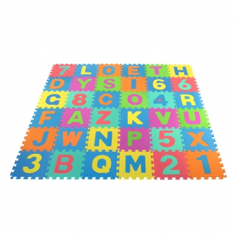 Minkštas kilimėlis-dėlionė 168x168 cm.