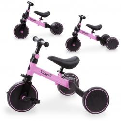Triratukas - paspirtukas - balansinis dviratukas Pico Pink