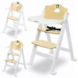 Medinė maitinimo kėdutė Floris White