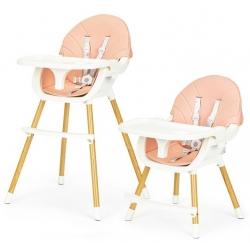 Maitinimo kėdutė reguliuojamo aukščio MuiltiBeige 2in1