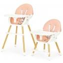 Maitinimo kėdutė reguliuojamo aukščio MultiBeige 2in1